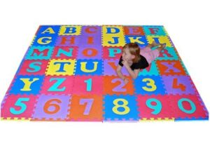 36 Alphabet and 10 Number Floor Mat