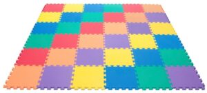 6 Colors Rainbow Foam Wonder Mat