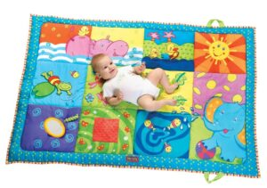 Tiny Love Super Mat, Orange & Blue