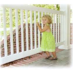 Balcony Shield Or Banister Guard For Babies