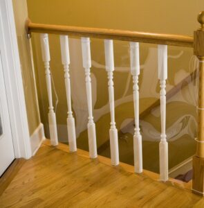 balcony shield or banister guard