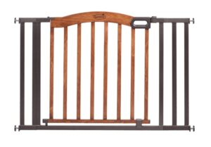Decorative Metal & Wood Expansion Gate