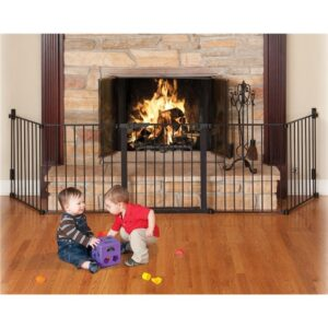 KidCo Black AutoClose HearthGate