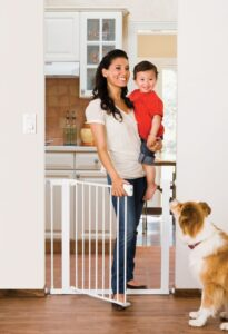 Easy Home Walk Through Baby Gate With Door
