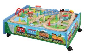 62-piece-wooden-train-table-set