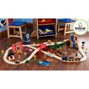 kidkraft-farm-75-piece-train-set