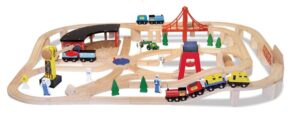 melissa-doug-deluxe-wooden-railway-set