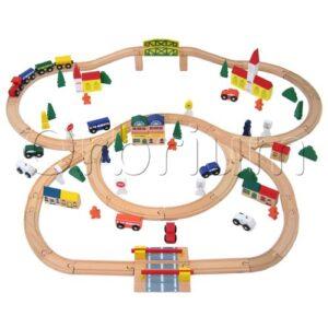 orbrium-triple-loop-wooden-train-set
