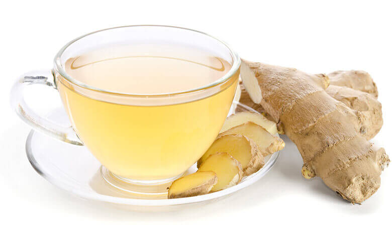 ginger tea reduce belly fat