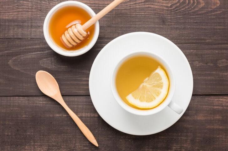 honey lemon water for belly fat