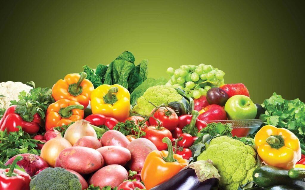fruits and vegetables for belly fat