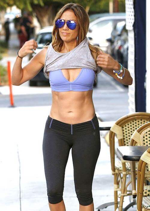 jennifer lopez fitness routine