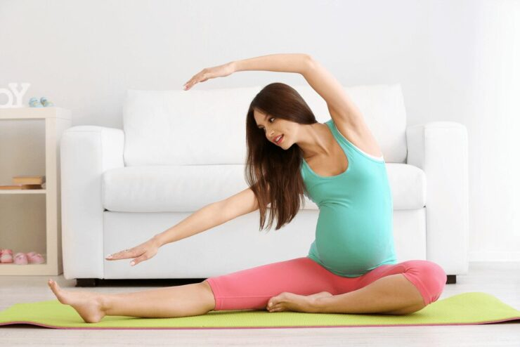 Pregnancy exercise for normal delivery
