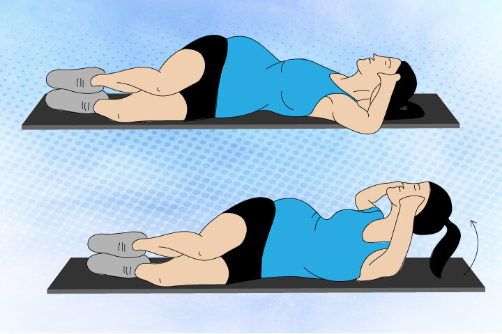 crunches and pregnancy