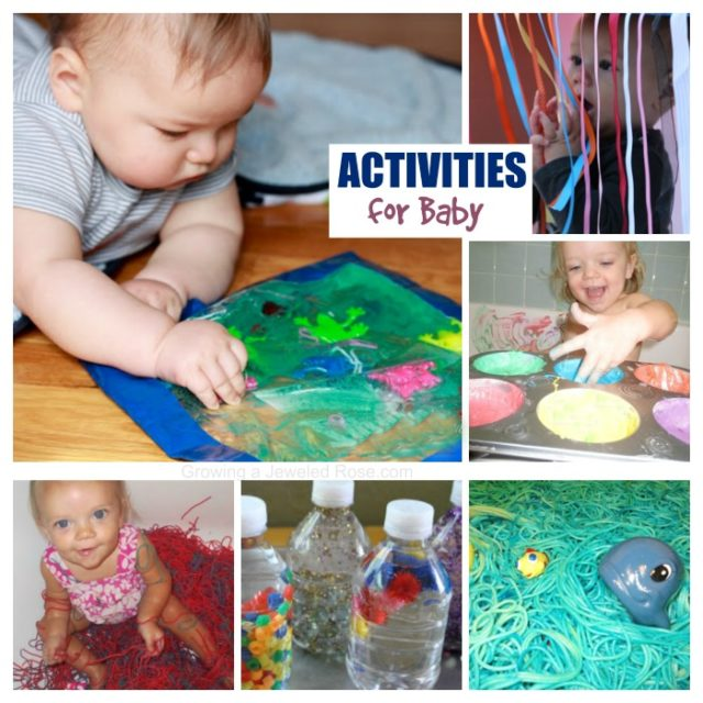 sensory activities for infants in daycare