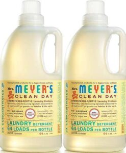 Mrs. Meyer's Laundry Detergent, Baby Blossom, 64 fl oz (2 ct): Health & Personal Care