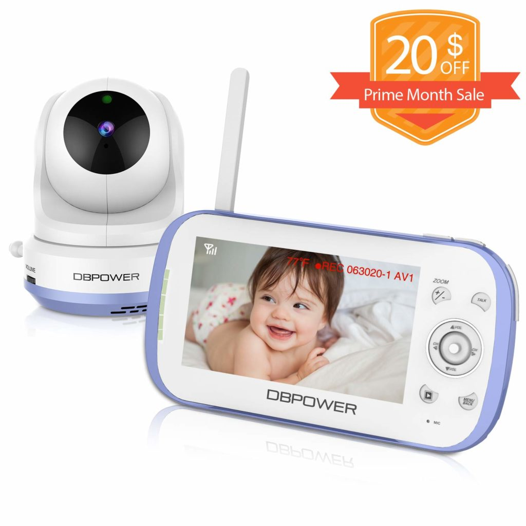 Best Split Screen Baby Monitor With Dual Audio 5