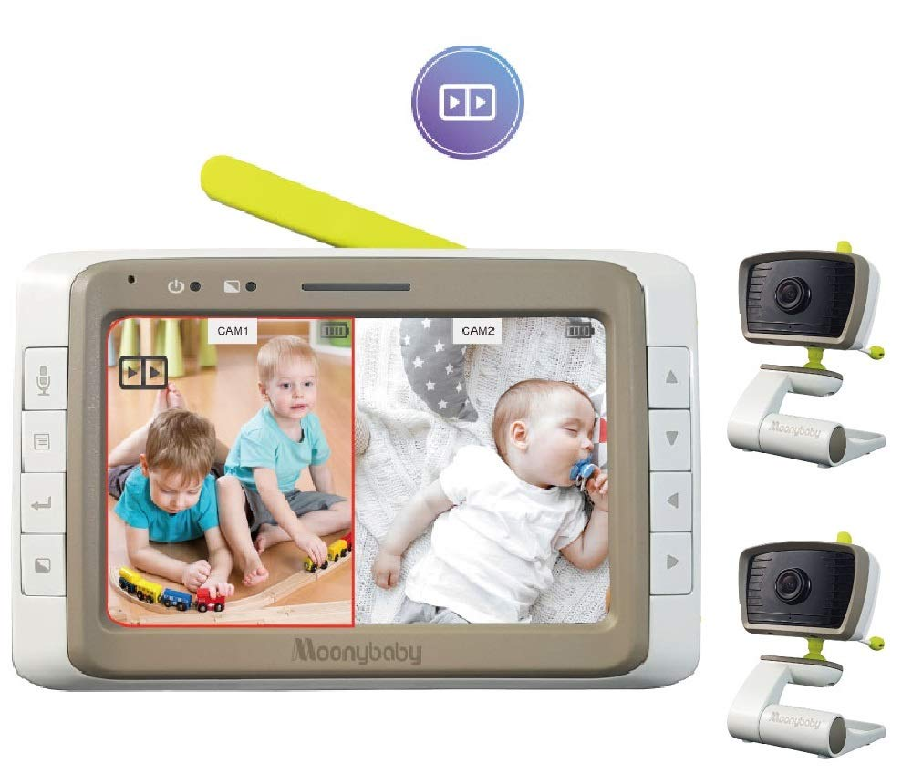 Best Split Screen Baby Monitor With Dual Audio 4