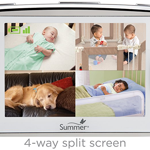 Best Split Screen Baby Monitor With Dual Audio 2