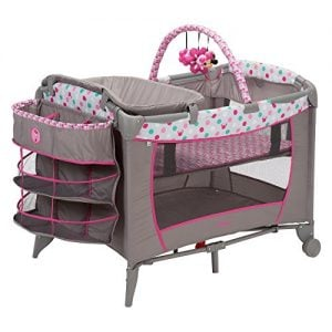 Disney Baby Sweet Wonder Play Yard with 3 Tiers of Storage