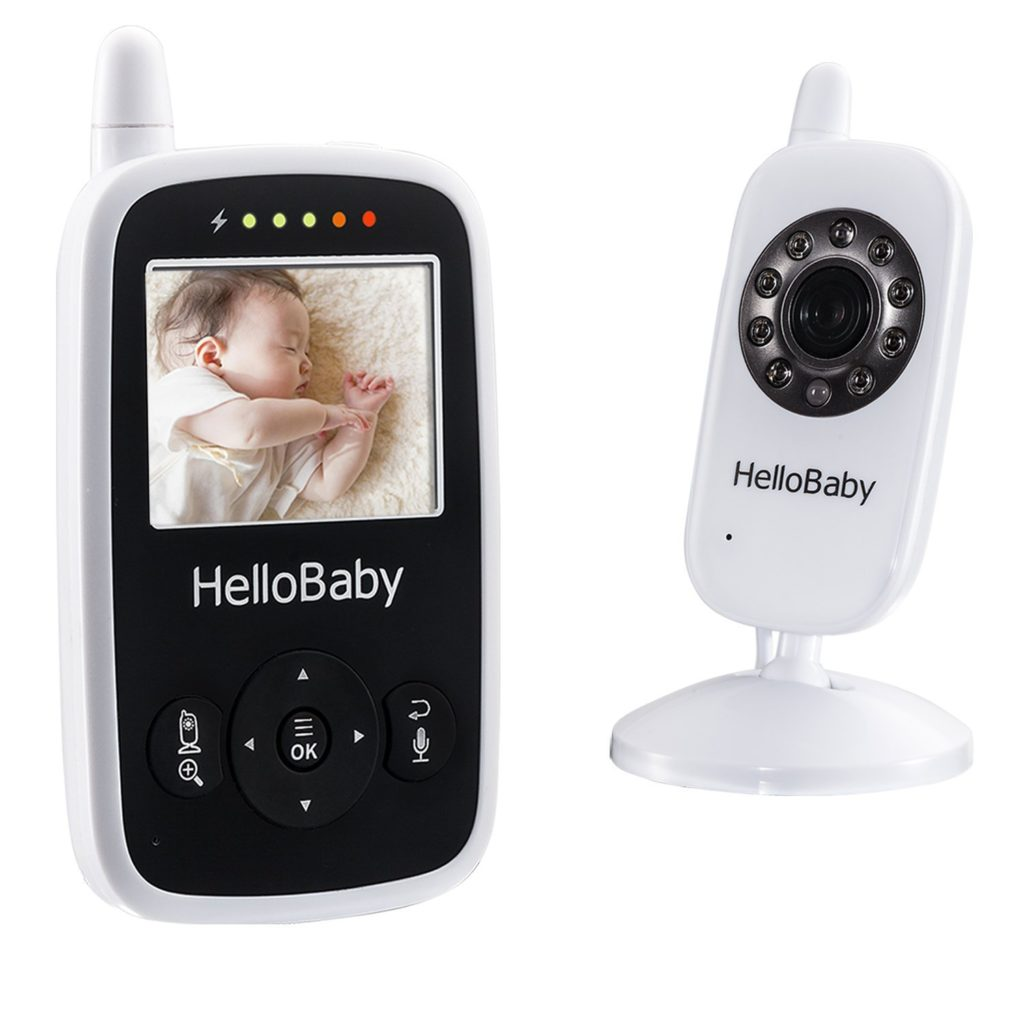 best video baby monitor with 2 parent units