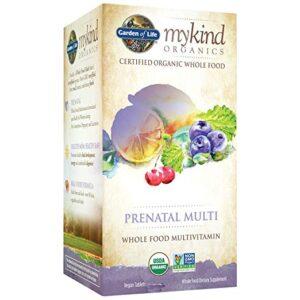Garden of Life Organics Prenatal Multivitamin Supplement with Folate