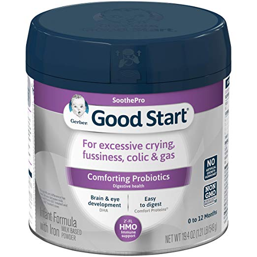 best formula for colic and gas