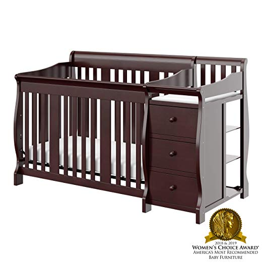 Best Convertible Cribs With Changing Table Attached 8