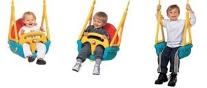 EDU-PLAY Baby Outdoor Swing Seat 3-in-1