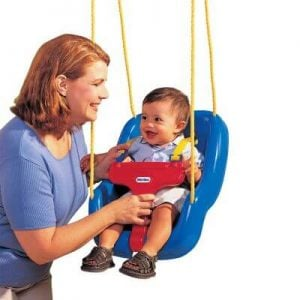 Little Tikes 2 in 1 Snug 'n Secure Swing