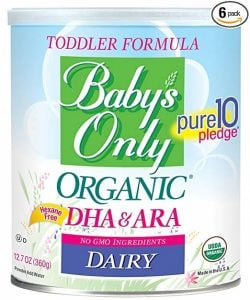 Baby's Only Dairy with DHA Toddler Formula