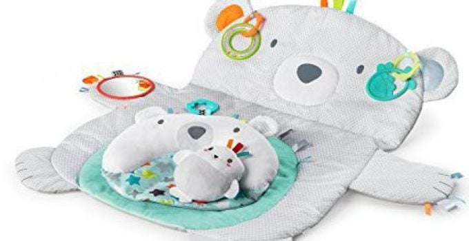 Bright Starts Tummy Time Prop & Play Activity Center