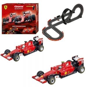 Carrera GO!! Ferrari Red Champions Slot Car Race Track