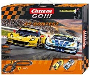 Carrera Go!!! GT Contest- Slot Car Race Track Set