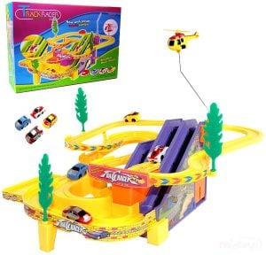 Haktoys Authentic Track Racer Playset