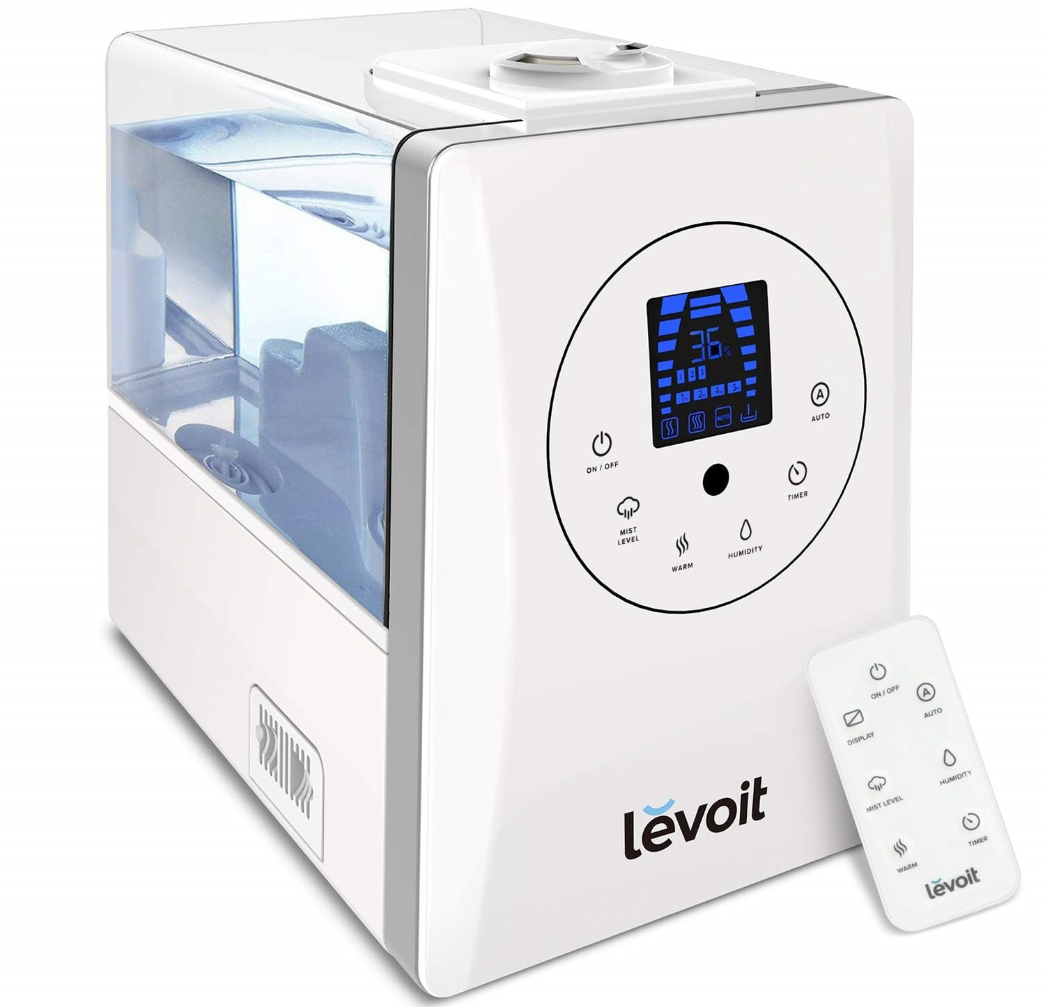 Levoit Cool and Warm Mist Ultrasonic Air Humidifier