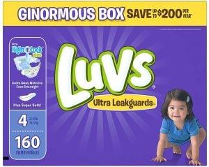 Luvs Ultra Leakguard