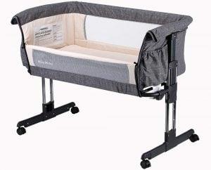 Mika Micky Bedside Sleeper Easy Folding Portable Bassinet