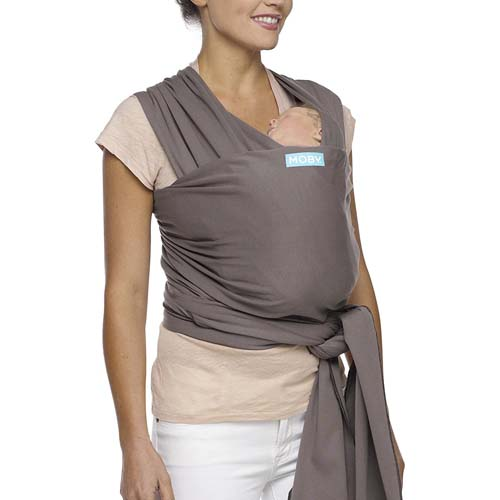 Moby Wrap Baby Carrier for Newborns + Toddlers