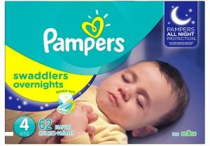 Pampers Swaddlers Overnight