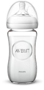 Philips Avent Natural Glass Baby Bottles 4 Ounce