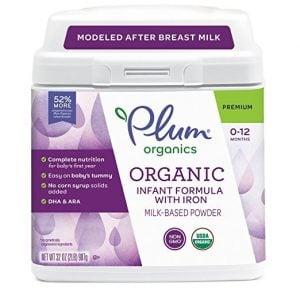 Plum Organics Grow Well Organic Infant Formula