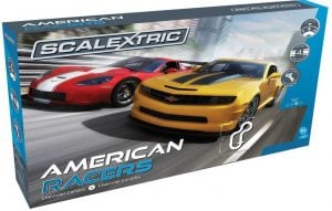 Scalextric American Racers 1:32 Slot Car Race Track Playset