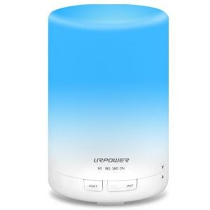 URPOWER 2nd Gen 300 ml Aroma Essential Oil Diffuser Humidifier