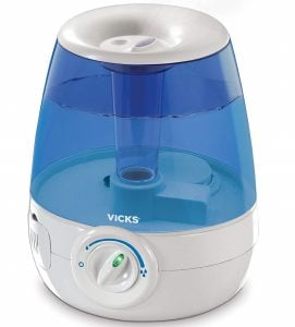 Vicks Filter- free Ultrasonic Visible Cool Mist Humidifier