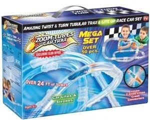 Zoom Tubes Car Trax Mega Set
