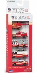 Daron FDNY Vehicle Gift Set, 5 Piece