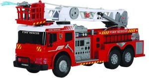 """Dickie Toys 24"""" Light and Sound Fire Brigade Vehicle (With Working Pump)"""