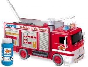 Minmi Blowing Bubble Fire Engine Rescue Truck