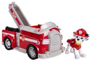 Paw Patrol Marshall's Fire Fightin' Truck. Vehicle and Figure